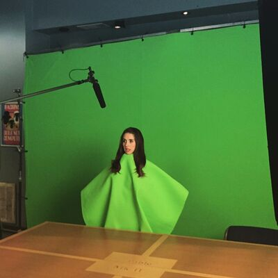 6x1 Annie green screen