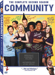Community Season Two DVD