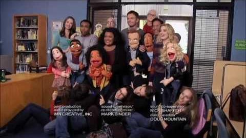 """Community Puppets end credits """"Intro to Felt Surrogacy"""""""