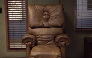 Troy as a chair