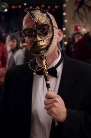 Dean Pelton's first costume
