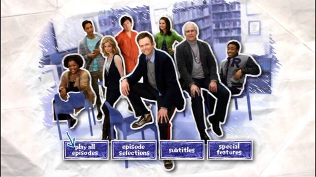 Season One DVD menu