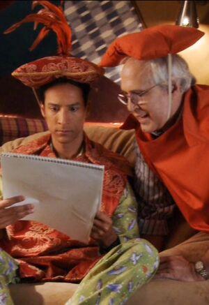 Pierce and Abed Season Thrree