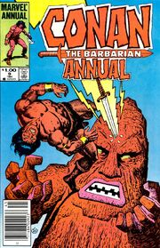 Conan the Barbarian Annual Vol 1 9
