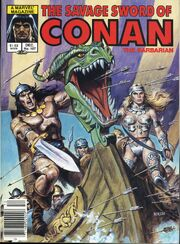 Savage Sword of Conan Vol 1 107