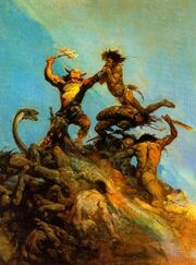 Frazetta warrior
