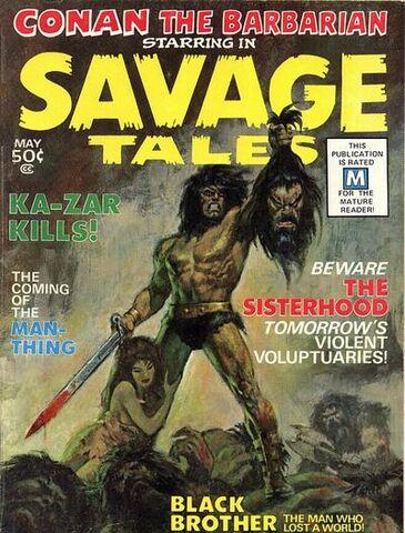 File:SavageTales1.jpg