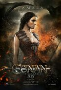 Rachel Nichols Conan Poster