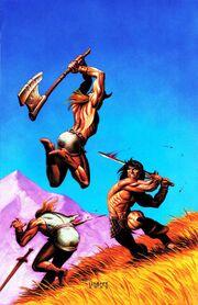 Conan the Cimmerian -17 Joseph Michael Linsner