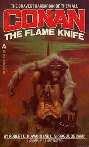 Conan- The Flame Knife (Ace)
