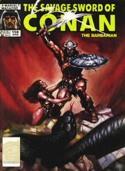 Savage Sword of Conan Vol 1 158