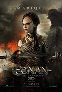 Rose McGowan Conan Poster