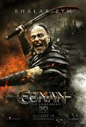 Steven Lang Conan Poster