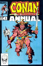 Conan the Barbarian Annual Vol 1 8