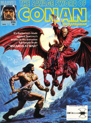 Savage Sword of Conan Vol 1 206
