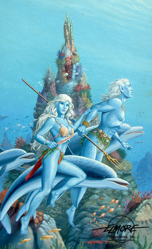 1000  images about sea elves and the like on Pinterest
