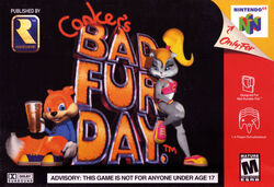 Conker's Bad Fur Day Cover