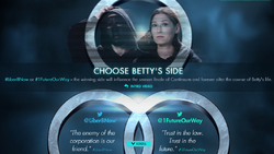 Betty's choice