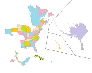 Everett Nation Map Small