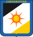 Coat of arms of Cornerstone.png