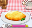 Rice in Omelet