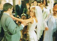 Sharon ian wedding punch up