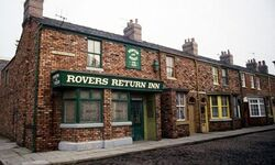Rovers return front