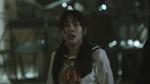 Ayumi looking at Mayu's Corpse