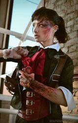 Angela Bermudez - Booker DeWitt - BioShock