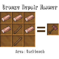 Bronze Repair Hammer