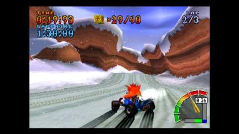 Blizzard Bluff - Platinum Relic - Crash Team Racing - 101% Playthrough (Part 50)