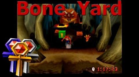Bone Yard - Platinum Relic - Crash Bandicoot 3 Warped - 105% Playthrough (Part 31)