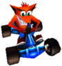 CTR Crash Bandicoot