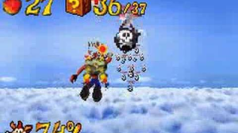 Crash Bandicoot XS 101% & All Platinums Part 8 (Rocket Racket)