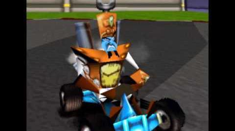 CTR Dr. N. Tropy voice taunts quotes lines Crash Team Racing