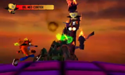 Crash vs Neo Cortex