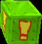 Crash Bandicoot 3 Warped Green Iron! Nitro Switch Crate