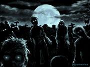 Zombies in Graveyard