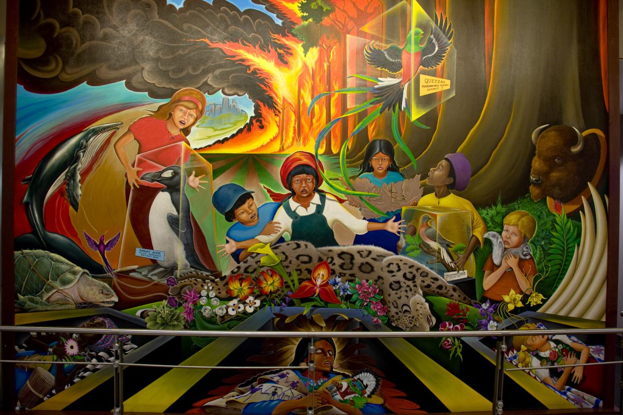 Denver airport creepypasta wiki fandom powered by wikia for Denver international airport mural