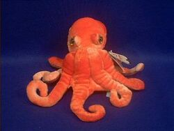 Octopus plush aa sm