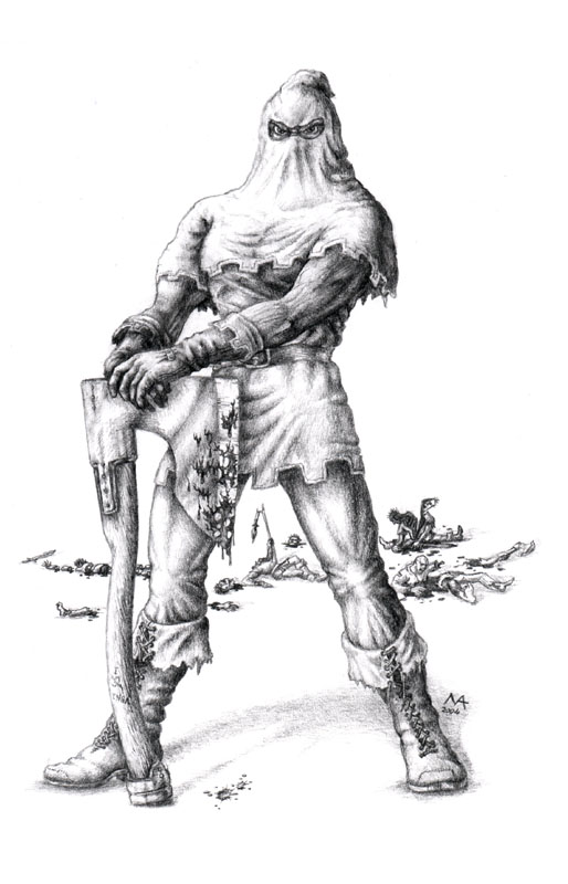 medieval executioner tattoos