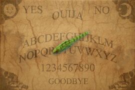 Ouija Board With Lizard Pen Pointer by mmpratt99