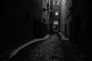 Dark Alley by michaeljtr