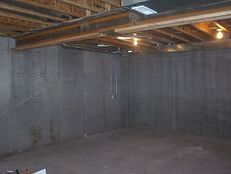 Empty basement