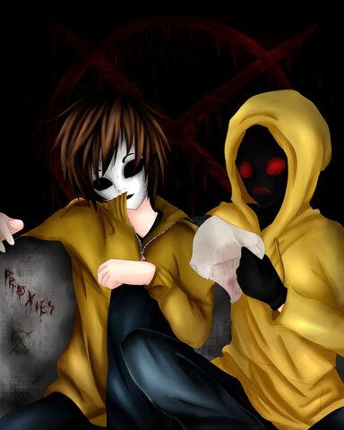 File:Masky and hoody by ren ryuki-d6g0zr9.jpg