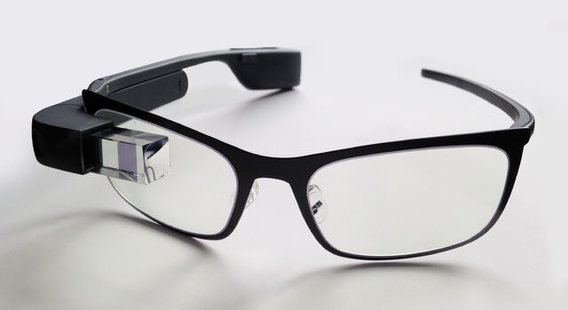 File:Google Glass with frame.jpg