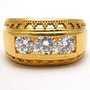 Dia761i-mens-three-stone-diamond-ring-22k-gold