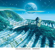 Stock-photo-fantasy-alien-planet-background-illustration-69160153
