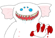 The ghost with bloody fingers by laserpotato-d5ht8ss