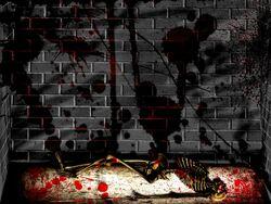 Bloody basement by EnforcedCrowd